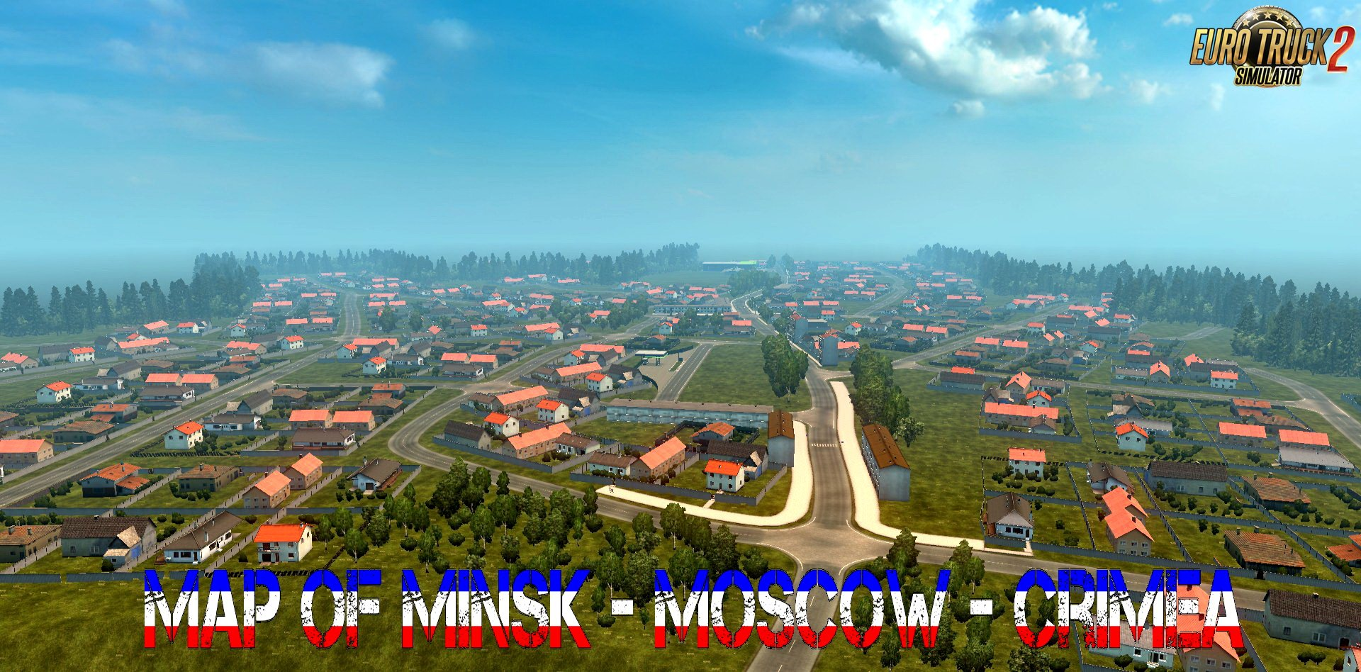 Map of Minsk - Moscow - Crimea v1.0 (Demo 2018) (1.30.x)