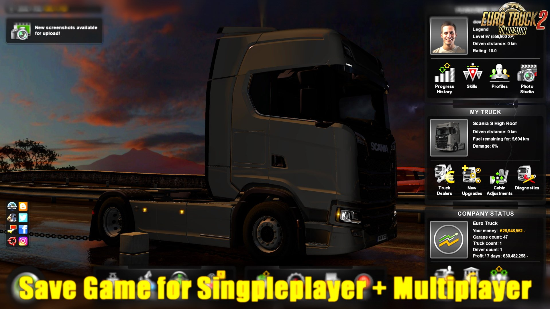 Save Game for Singleplayer + Multiplayer v1.0 (1.30.x)
