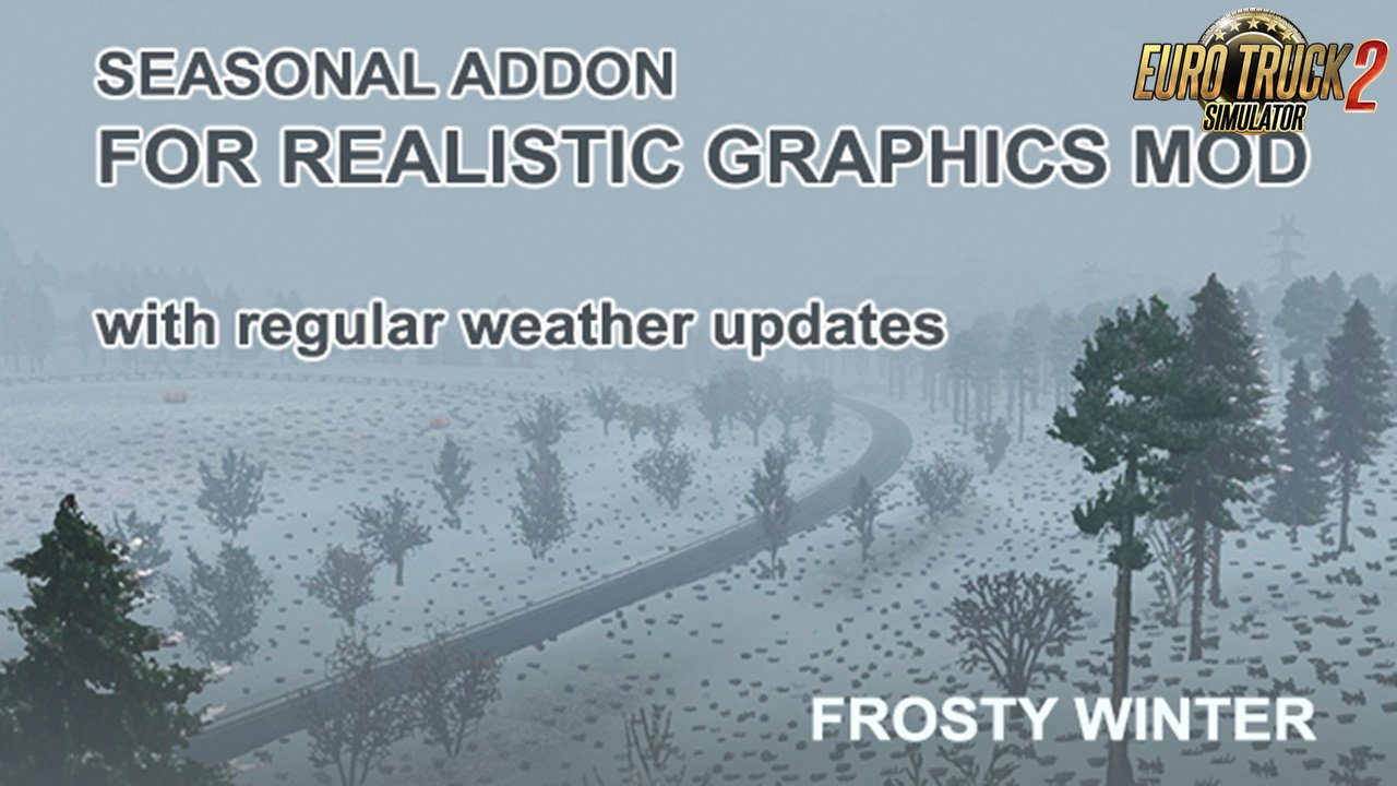 Seasonal Add-On for Realistic Graphics Mod v1.2 for Ets2