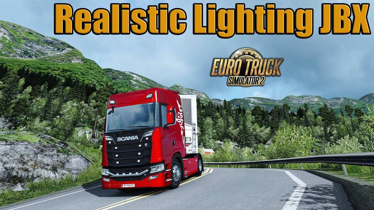 Realistic Lighting JBX + Reshade + Preset 1.9.5 Graphics Mod - Euro Truck Simulator 2