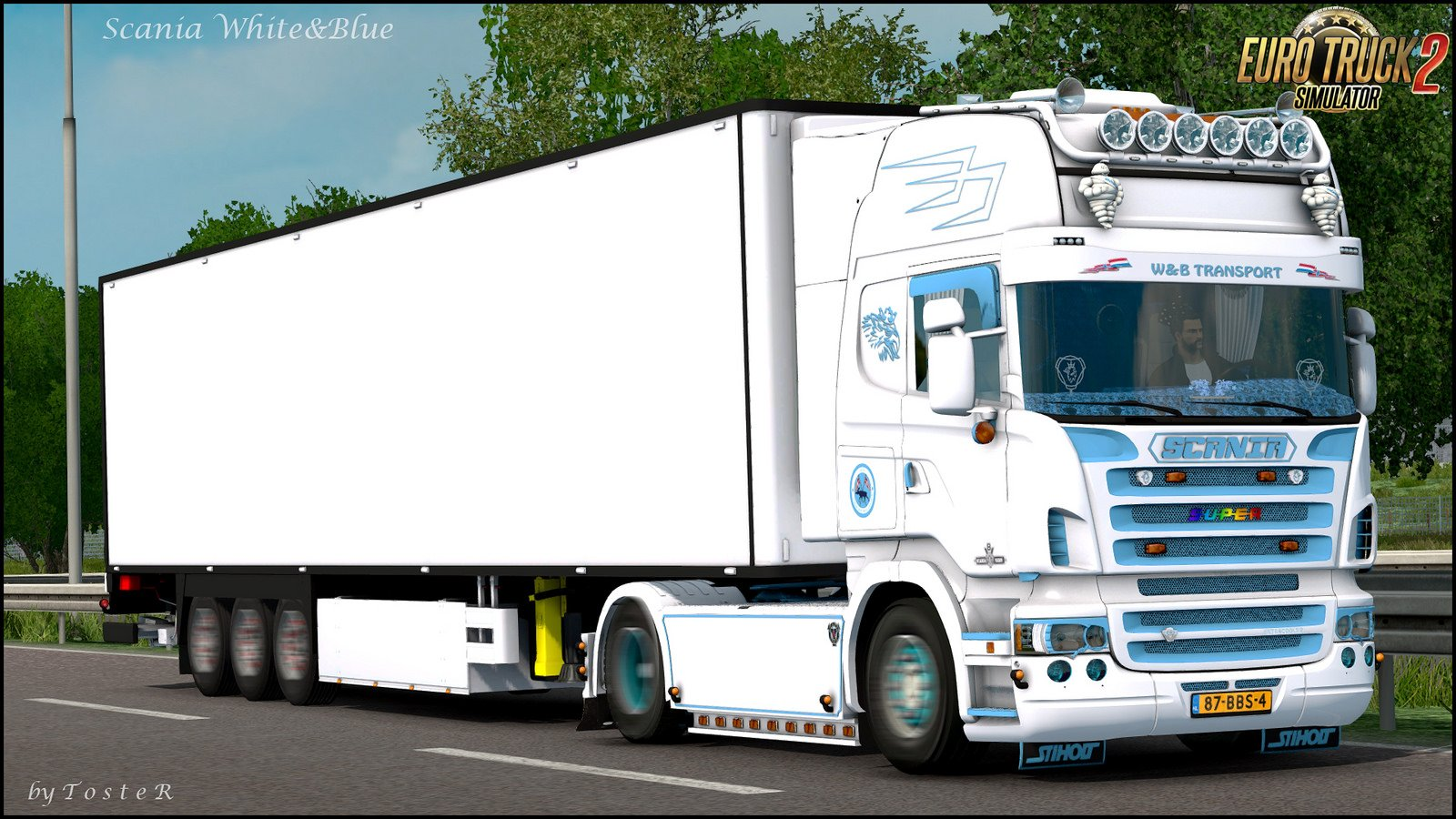 Scania W&B Transport Skin v1.0 (1.30.x)