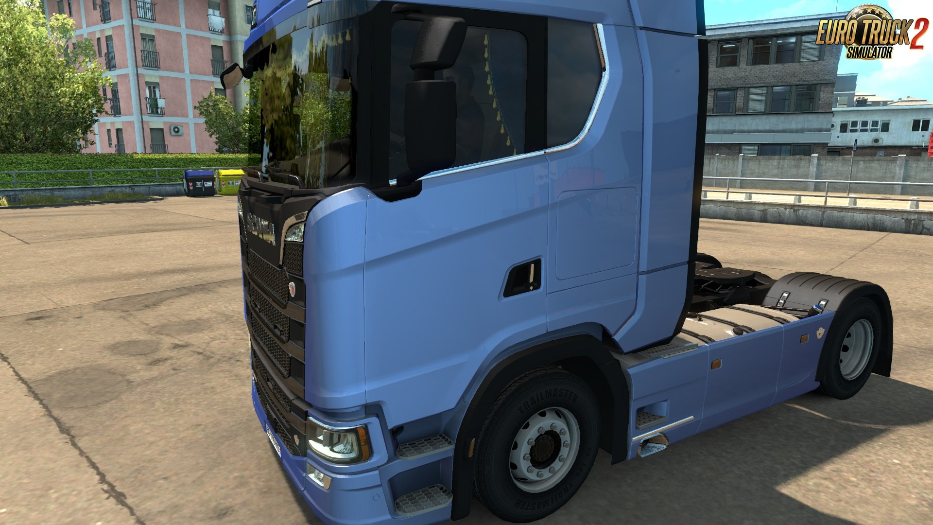 Scania Next Gen Animated Side Curtains