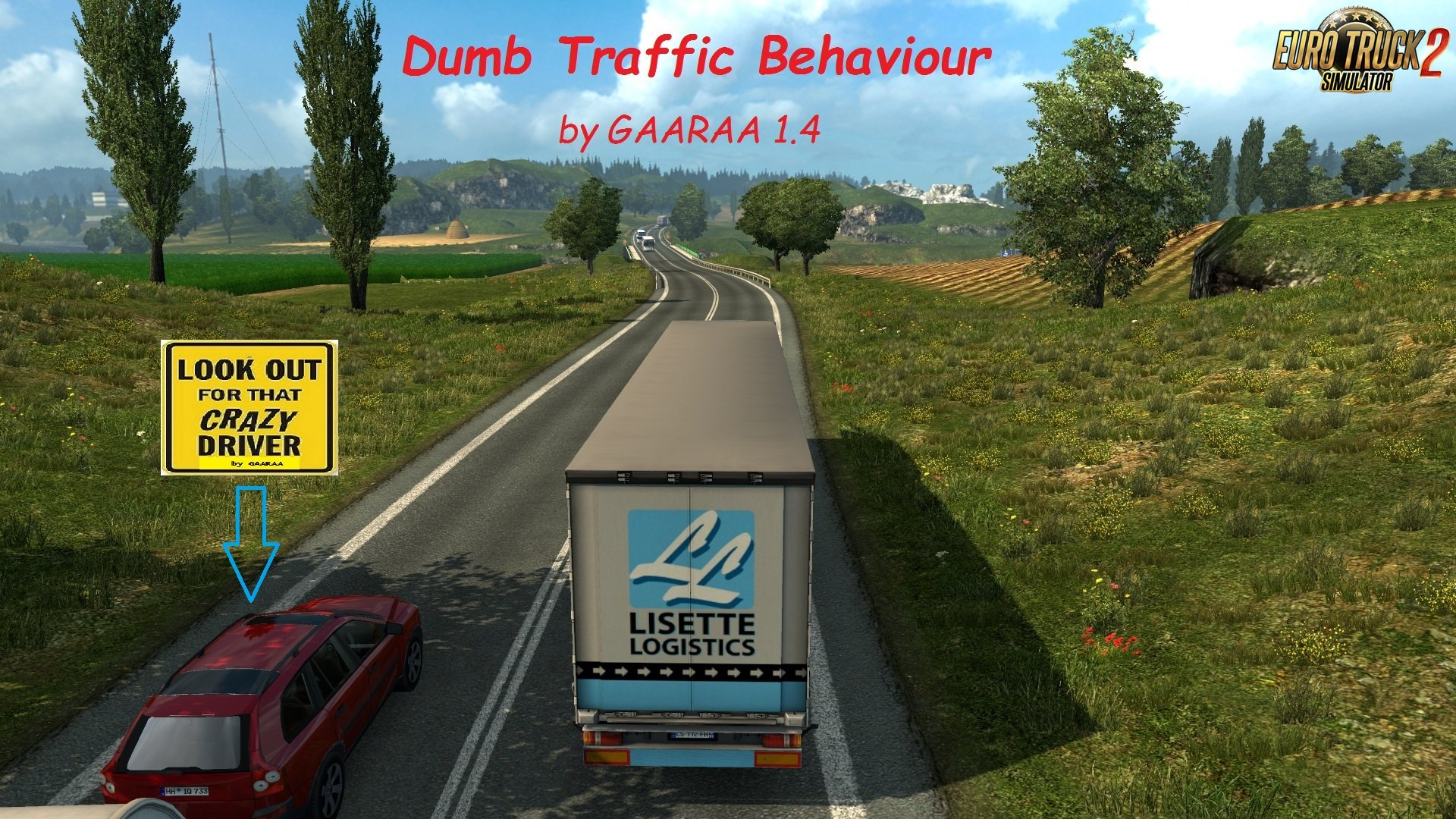 Dumb Traffic Behaviour by GAARAA 1.4