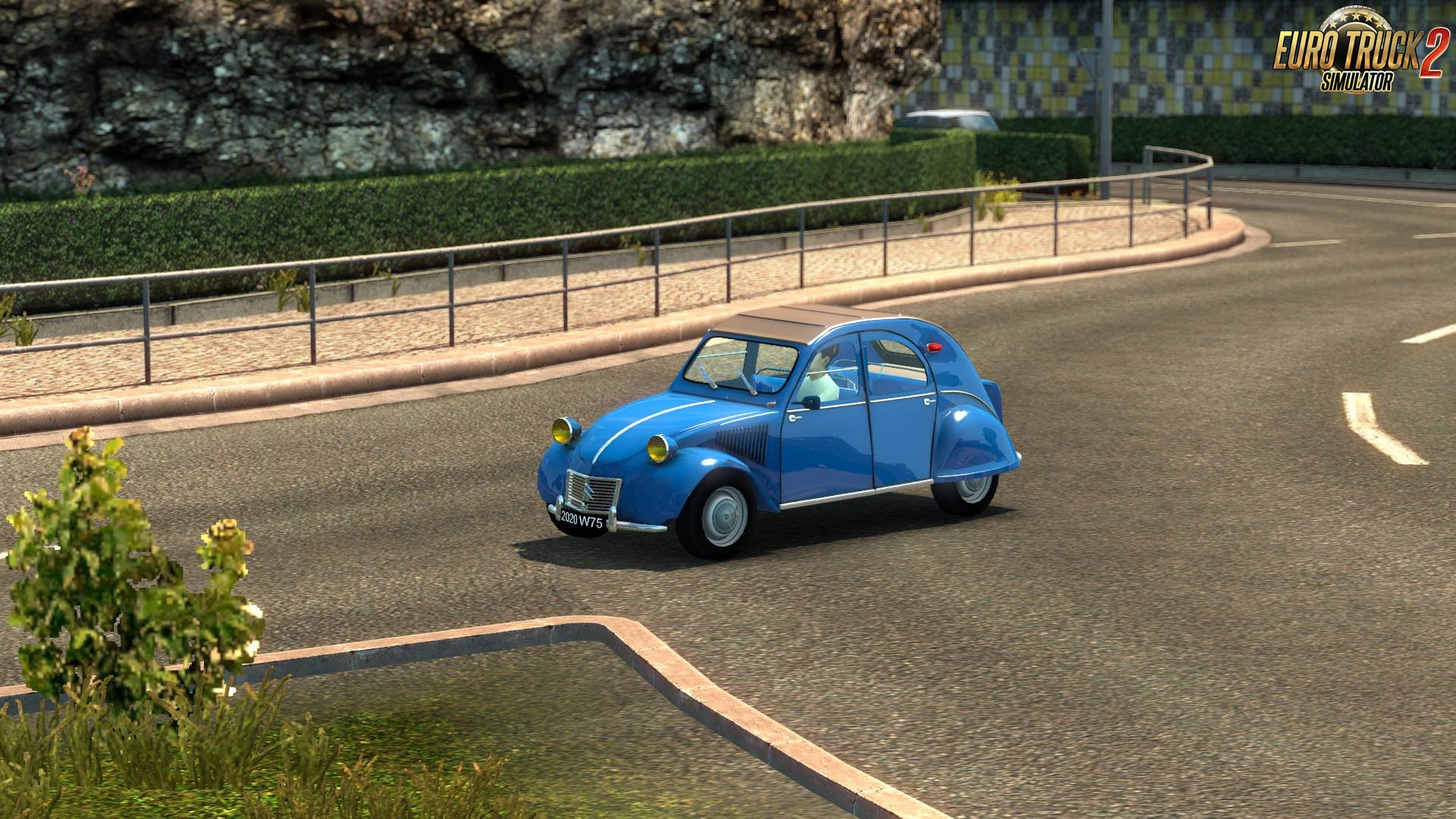 Citroën 2Cv Reworked v3.0 in Ai Traffic