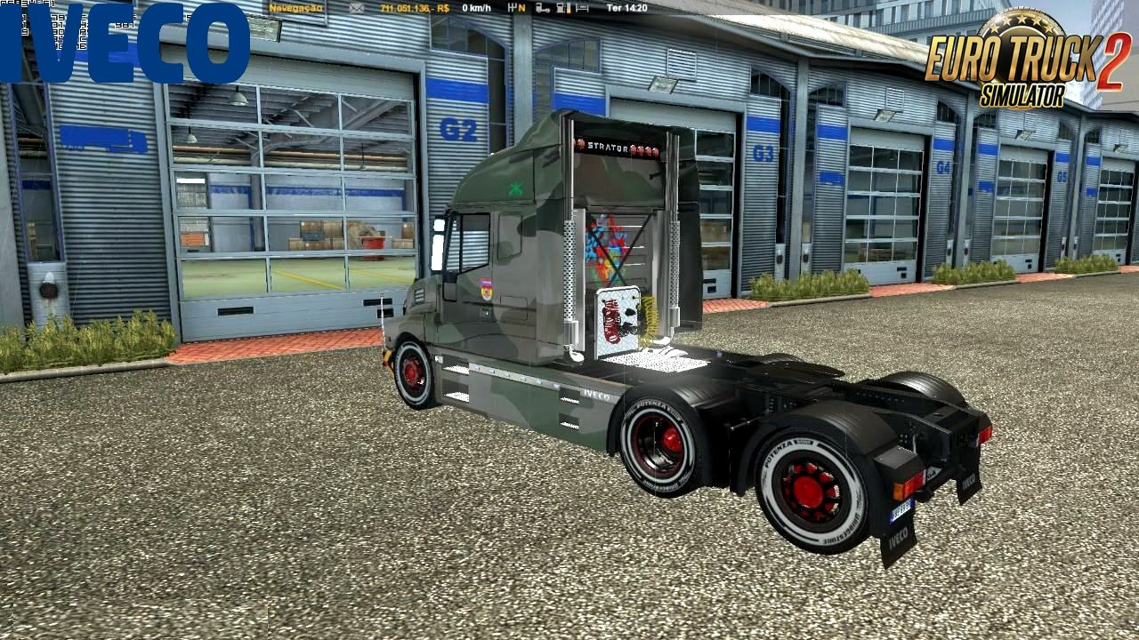 Iveco Strator + Interior v4.1 by Cp_MorTifIcaTioN (1.30.x)