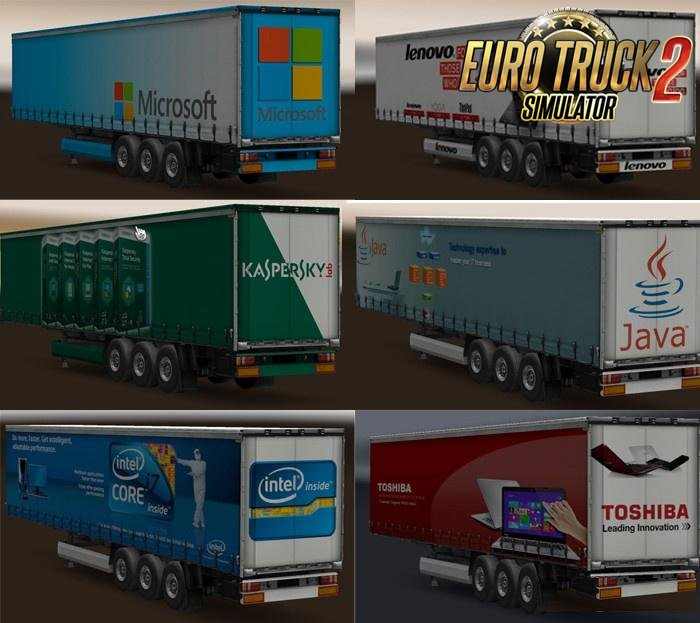 Technology Companies Trailer Pack Skins