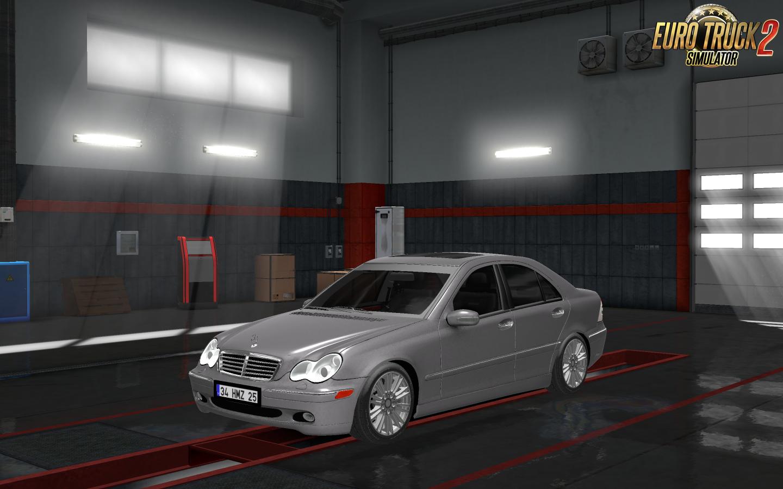 Mercedes Benz C32 Amg C320 Interior V1 0