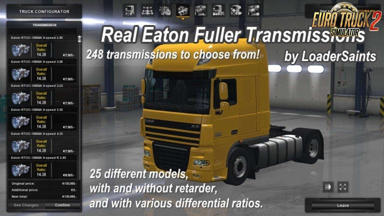 Real Eaton Fuller Transmissions v1.2.0 [1.30.x]