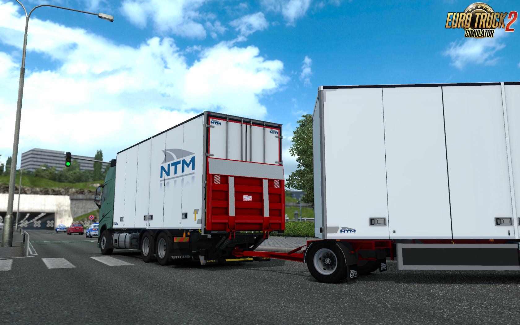 Kraker/NTM Tandem addon for Volvo FH 2012 by Kast