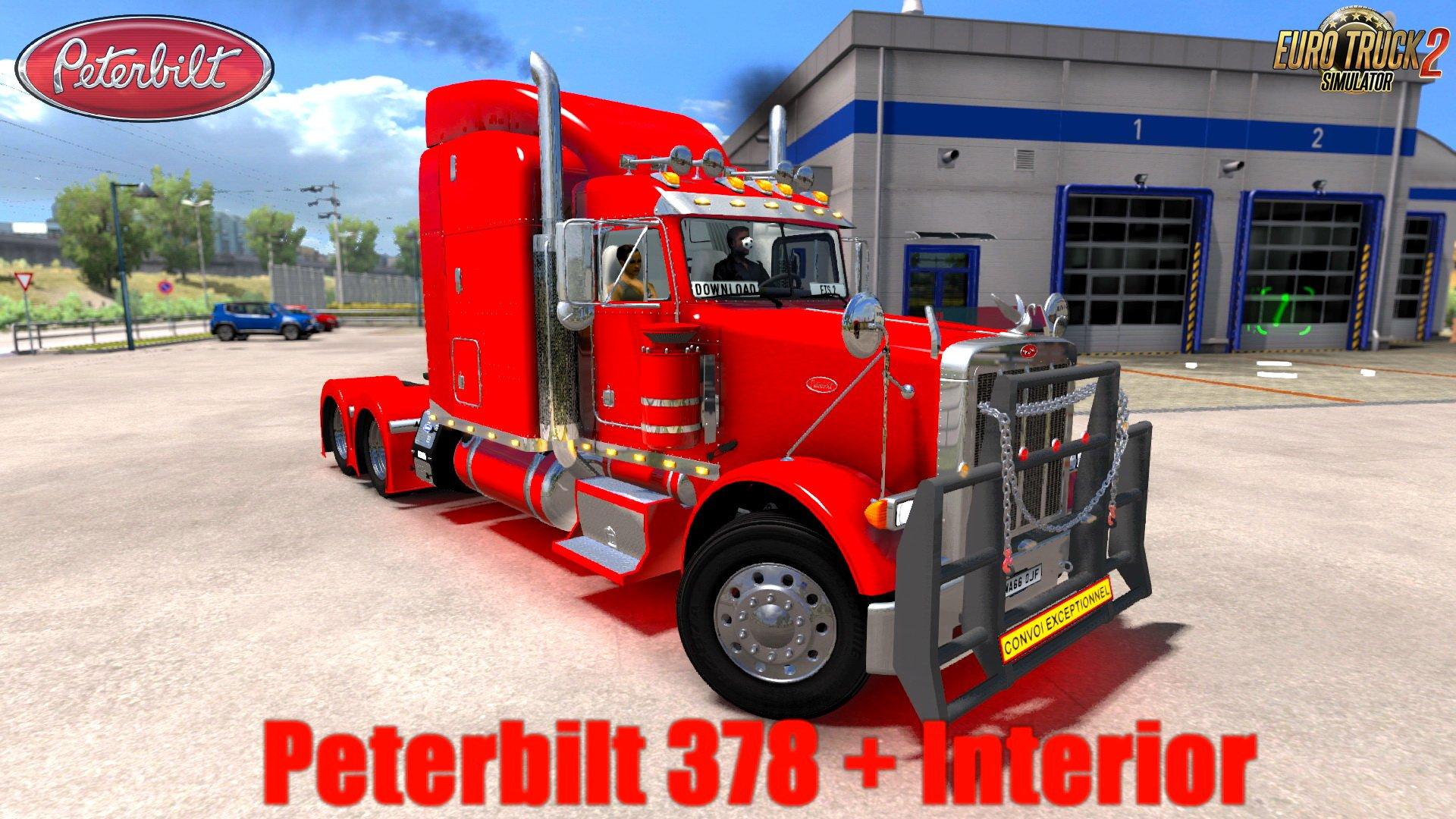 Peterbilt 378 + Interior v3.0 (1.30.x) (ETS 2)