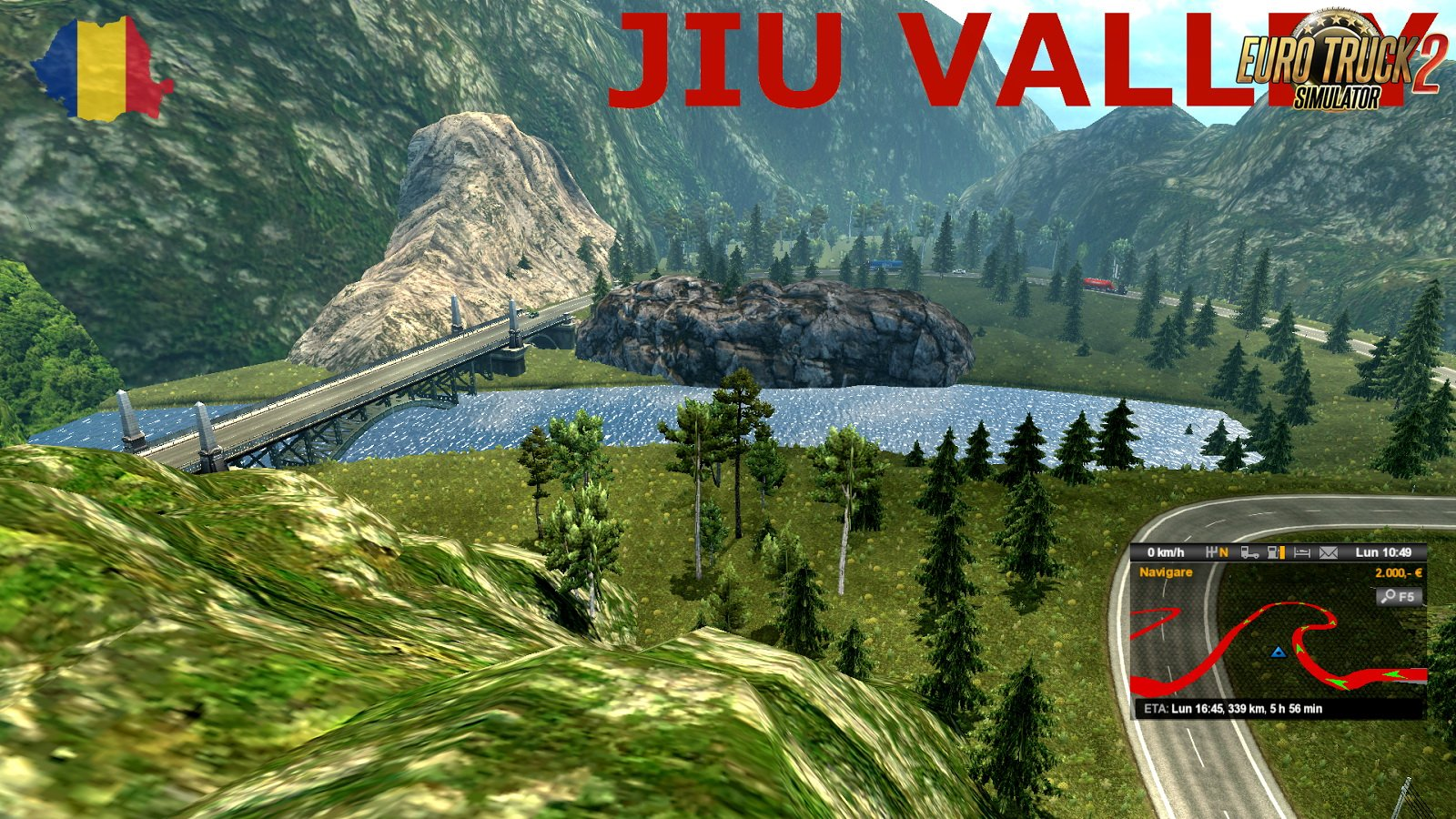 Europe Extended Map (Romania Add-On) v1.1 (1.30.x)