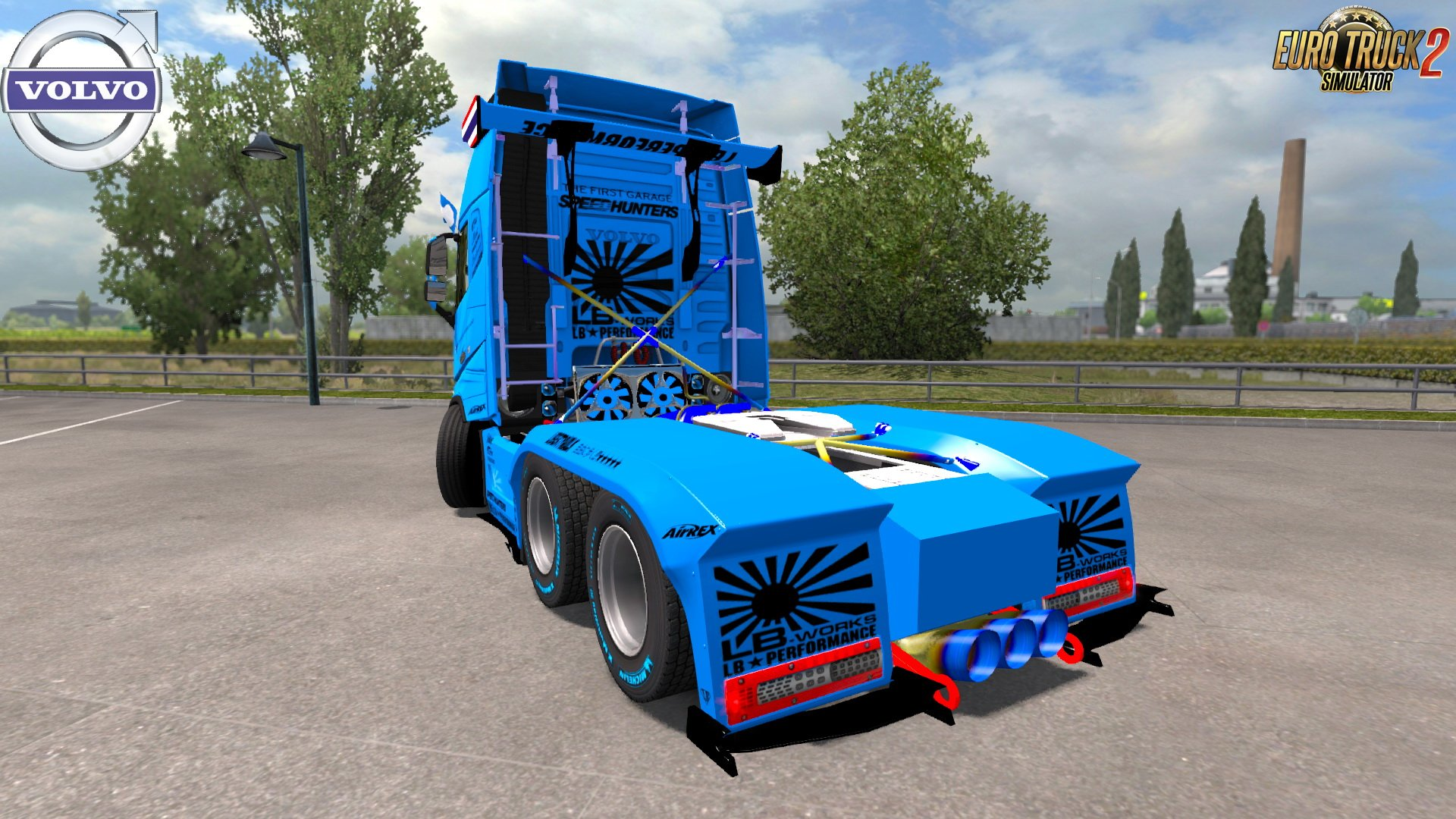 Volvo FH16 Racing Edition v1.0 by First Garage (1.30.x)