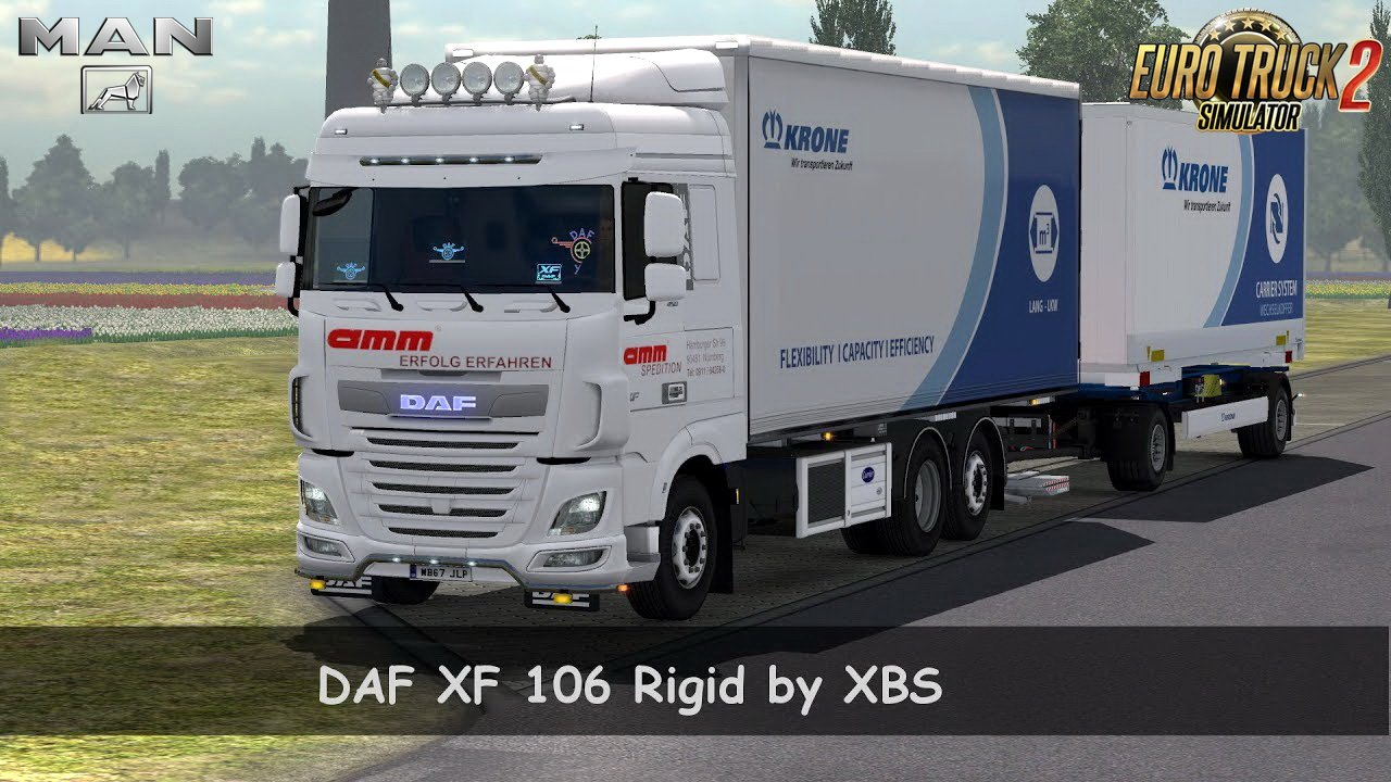 DAF XF 106 Rigid v1.2 by XBS (1.30.x)