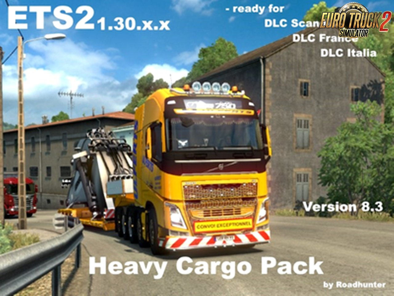 63 Heavy Cargo Pack v8.3 for Ets2