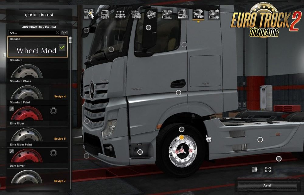 Holland Wheels for Ets2