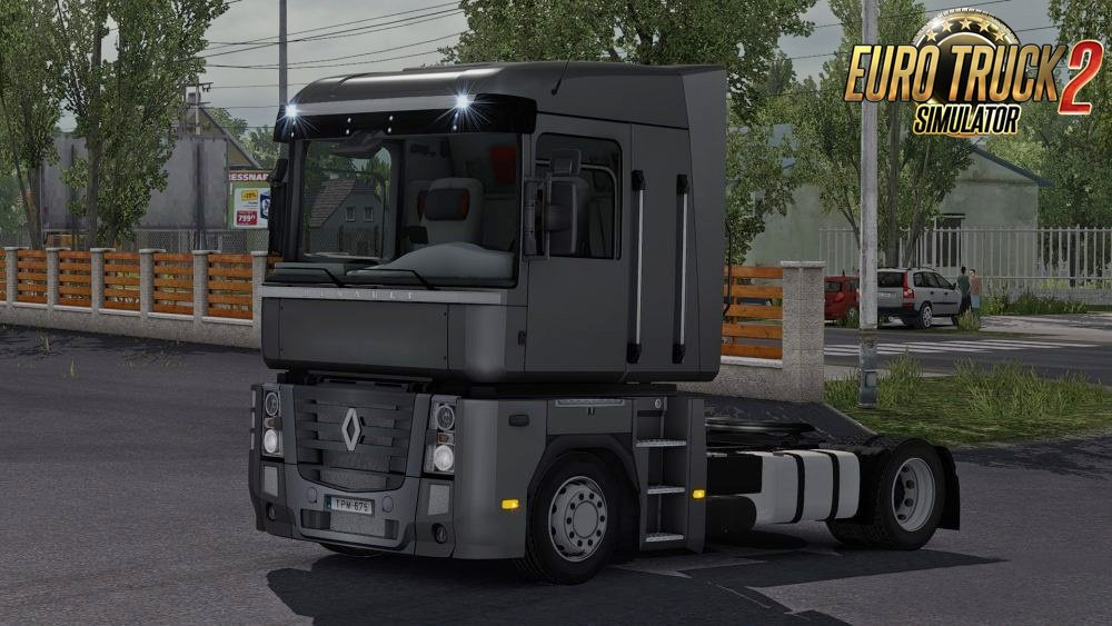 Lowdeck addon for Renault Magnum Scs