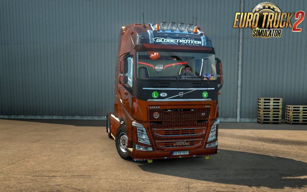 New Volvo FH16 Accessories + Interior v4 Fix [1.30.x]