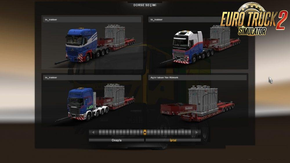 Heavy Haulage Convoy Mod for SCS 8x4s v1.0 (1.30.x)