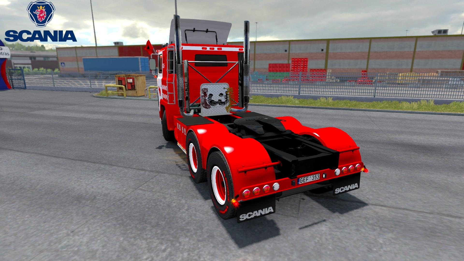 Scania 141 MTG + Interior v1.0 (1.30.x)