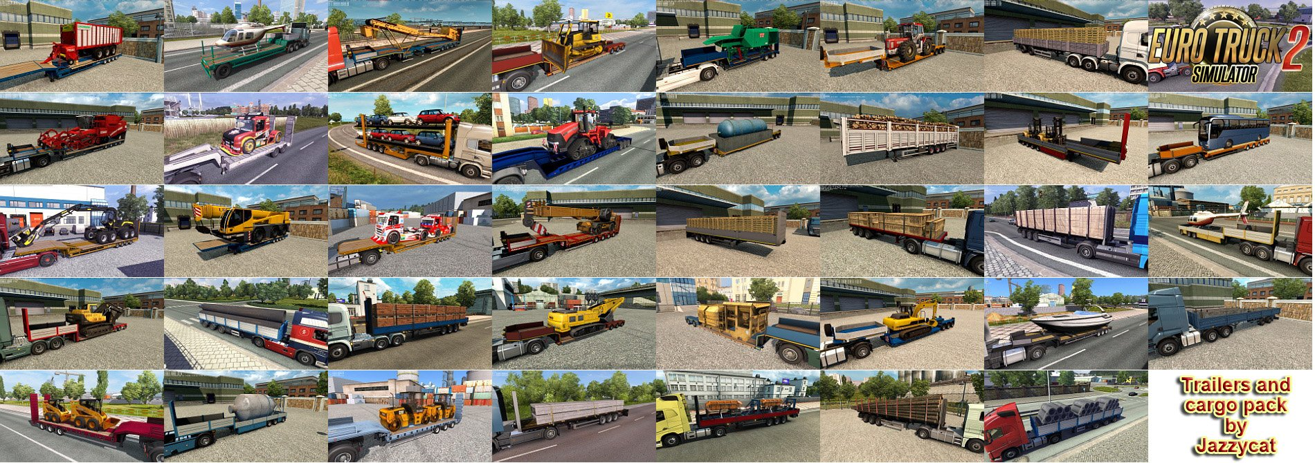 Trailers and Cargo Pack v6.4 by Jazzycat