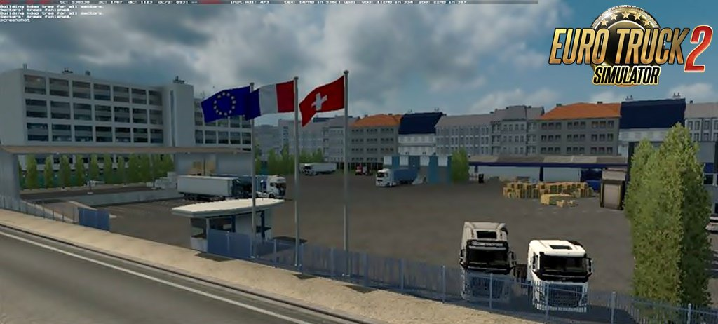 Warehouse Reims for Ets2
