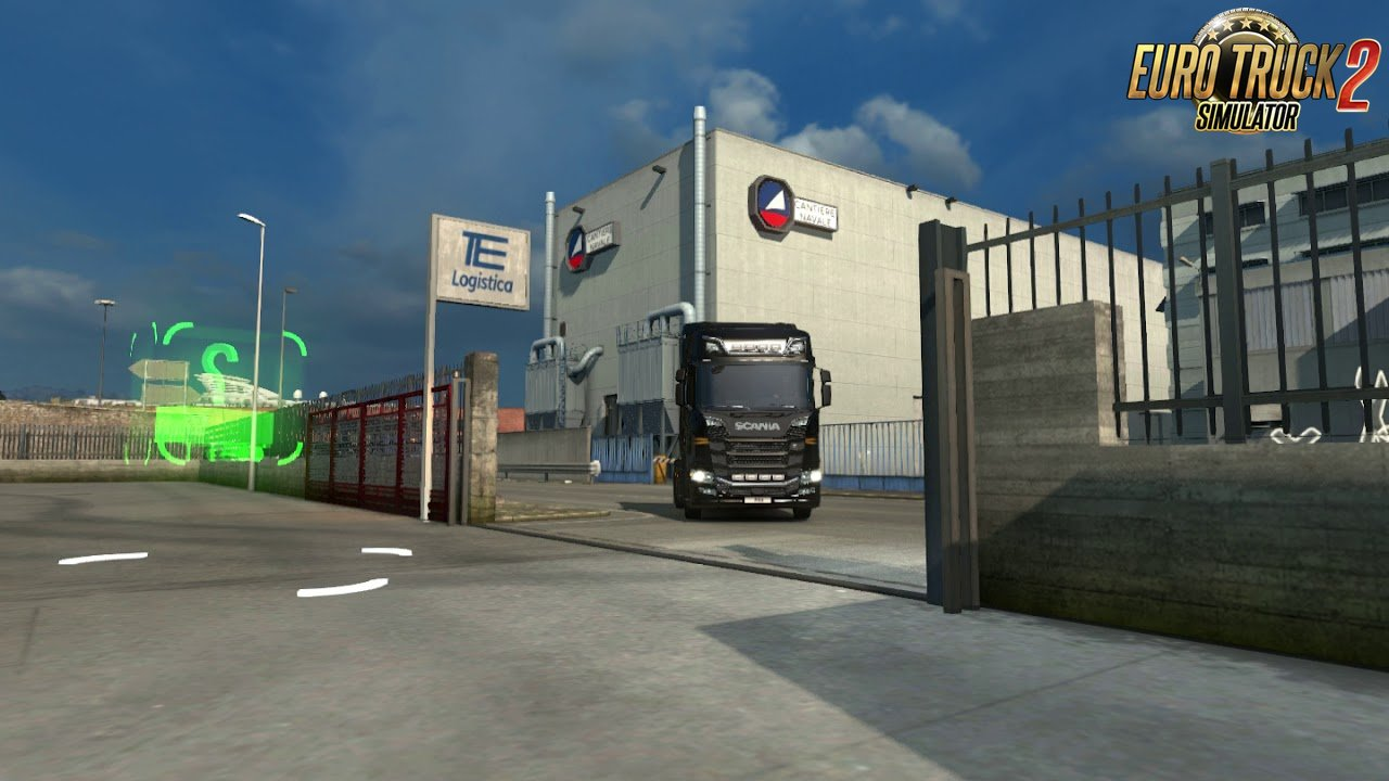 Animated gates sound for Ets2