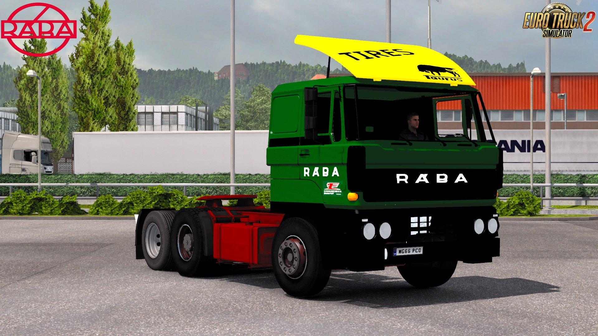 Raba 832, S22 + IFA Mega Mod v1.0 (1.30.x)