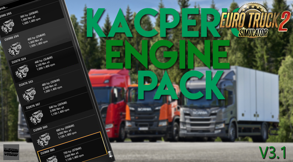 Kacper's Engine Mega Pack v3.1 [1.30.x]