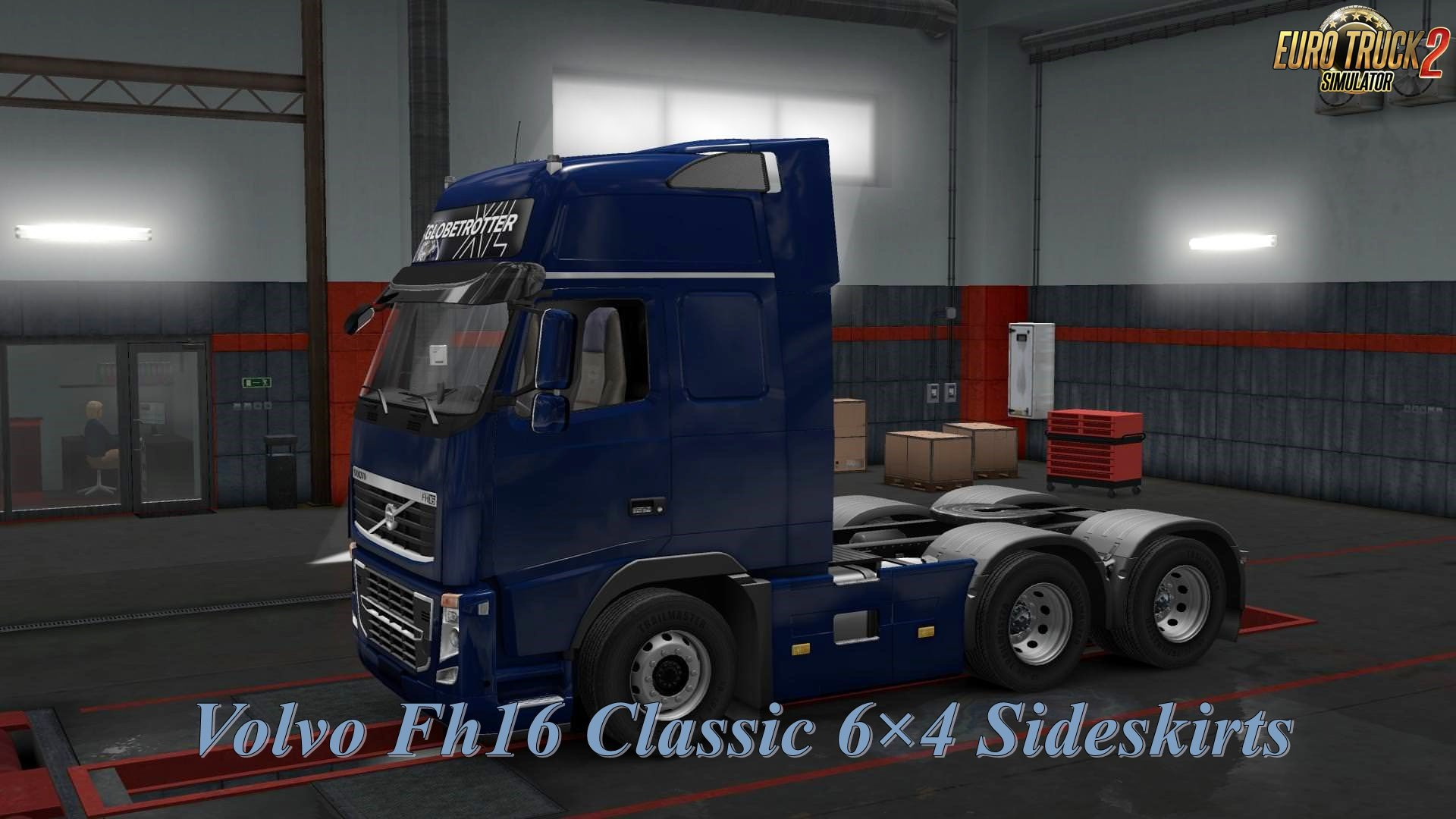 Volvo Fh16 Classic 6×4 Sideskirts for Ets2