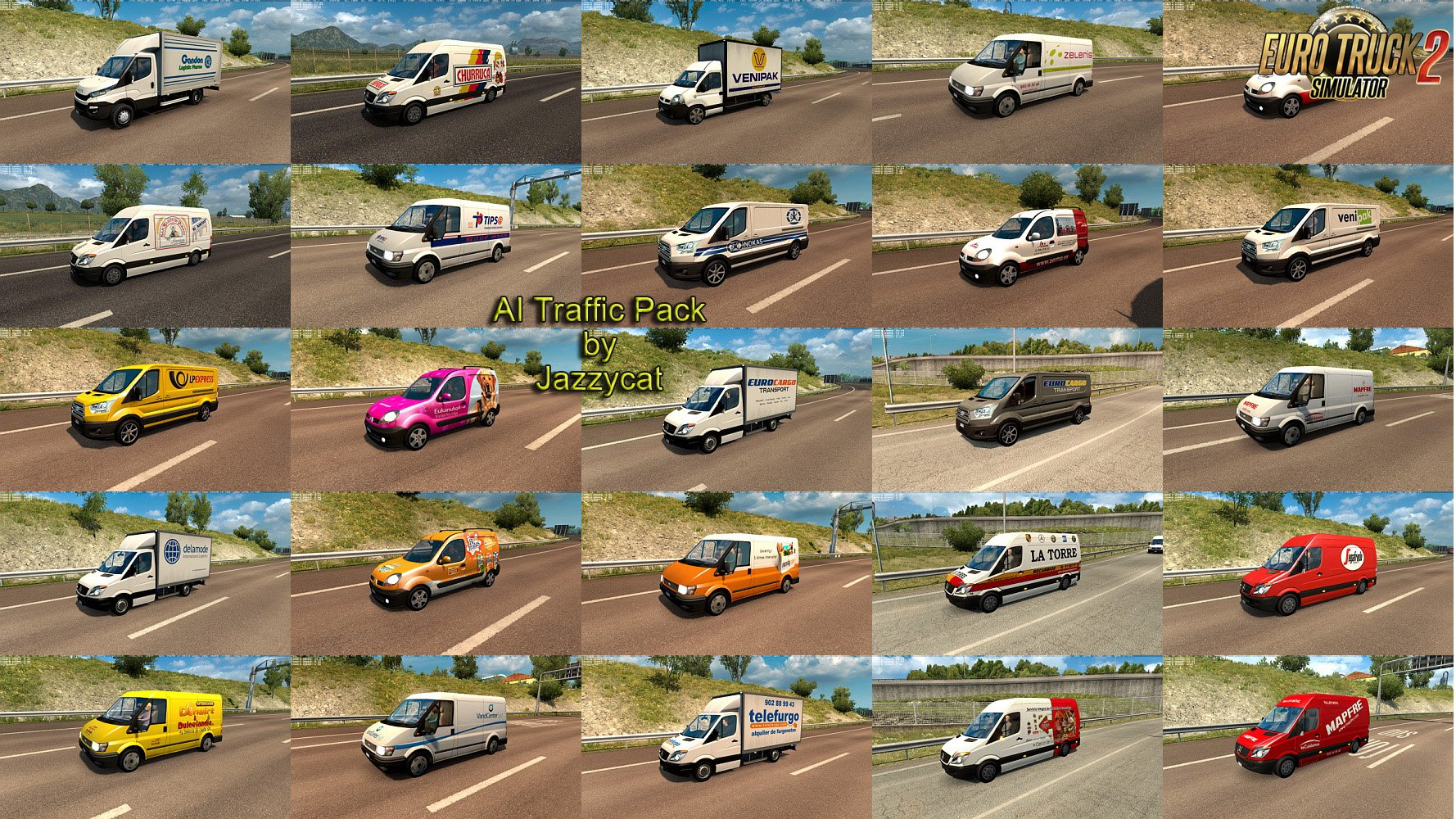 AI Traffic Pack v6.9 by Jazzycat
