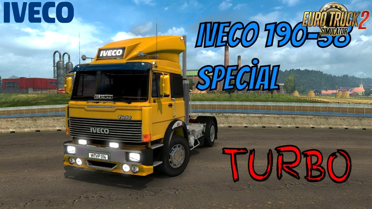 Iveco 190-38 Special Turbo + Interior v1.0 Edit by Ekualizer (1.30.x)