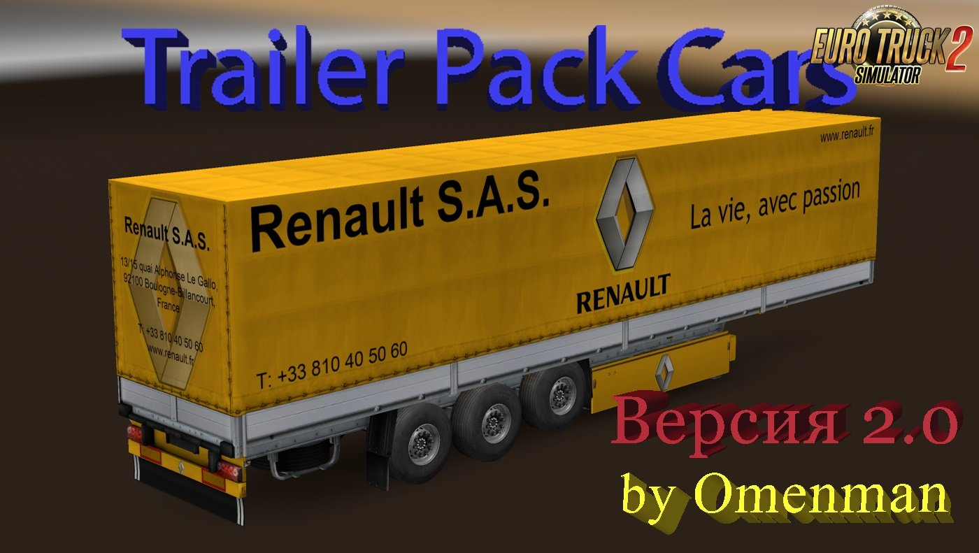 Trailer Pack Cars v2.0 by Omenman