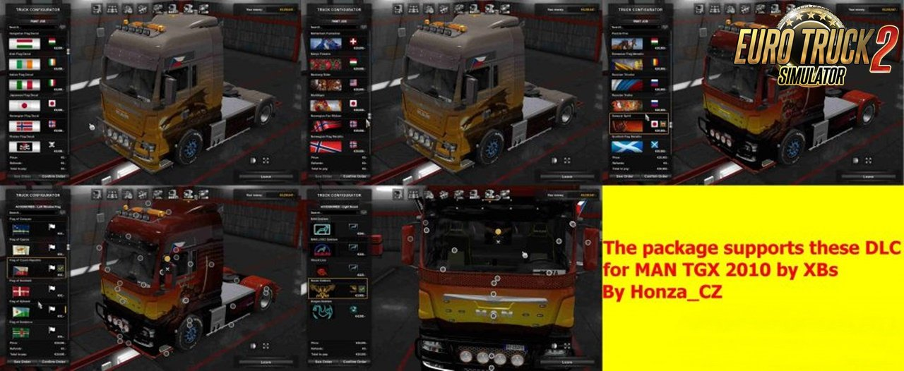 DLC Support for Man GTX 2010 by Honza_CZ