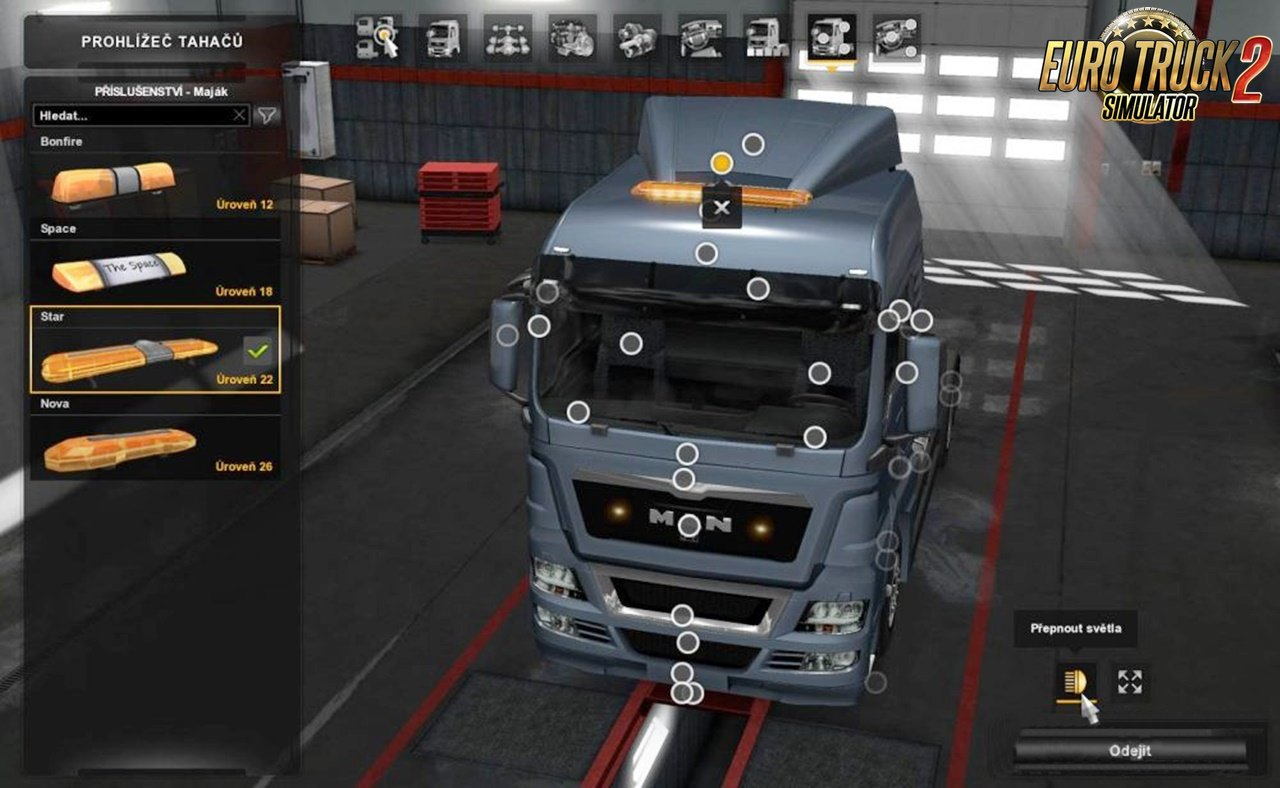 Beacons for Man TGX by XBS