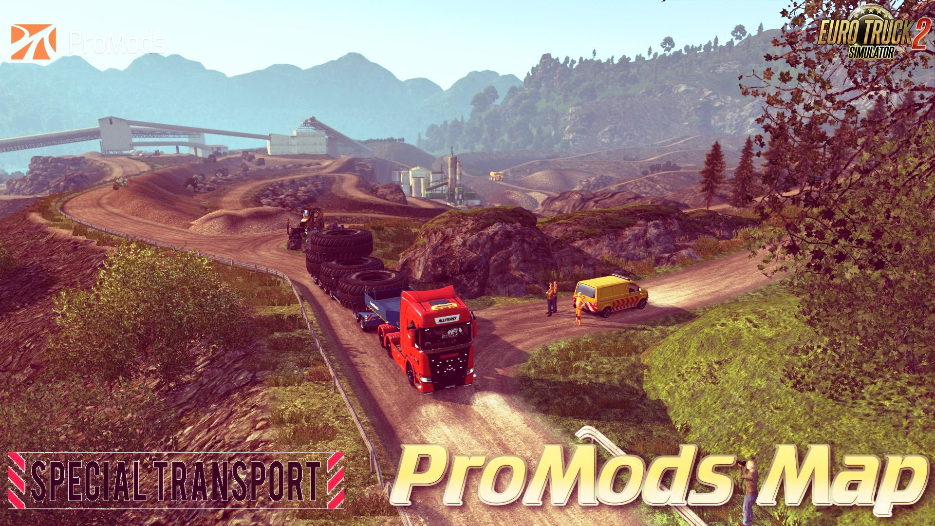 ProMods Map v2.30 + Special Transport DLC (1.31.x)