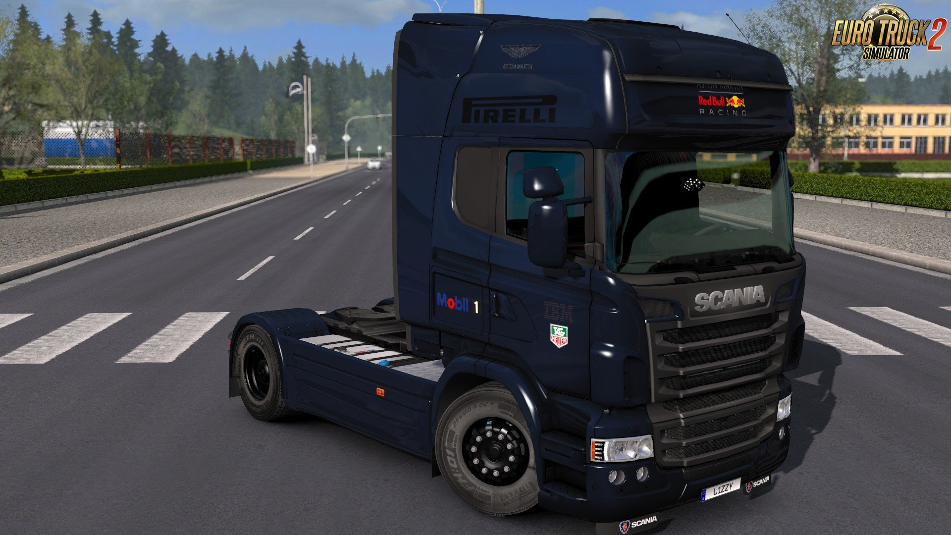 Scania RJL - Red Bull Racing Formula One Team 2018 Edition