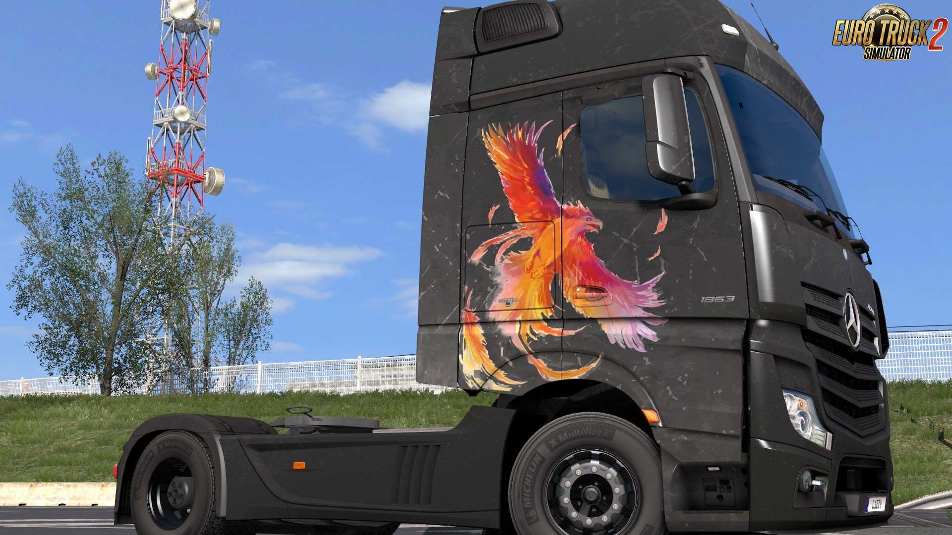 Mercedes Benz Actros 2014 - Rise Paintjob by l1zzy