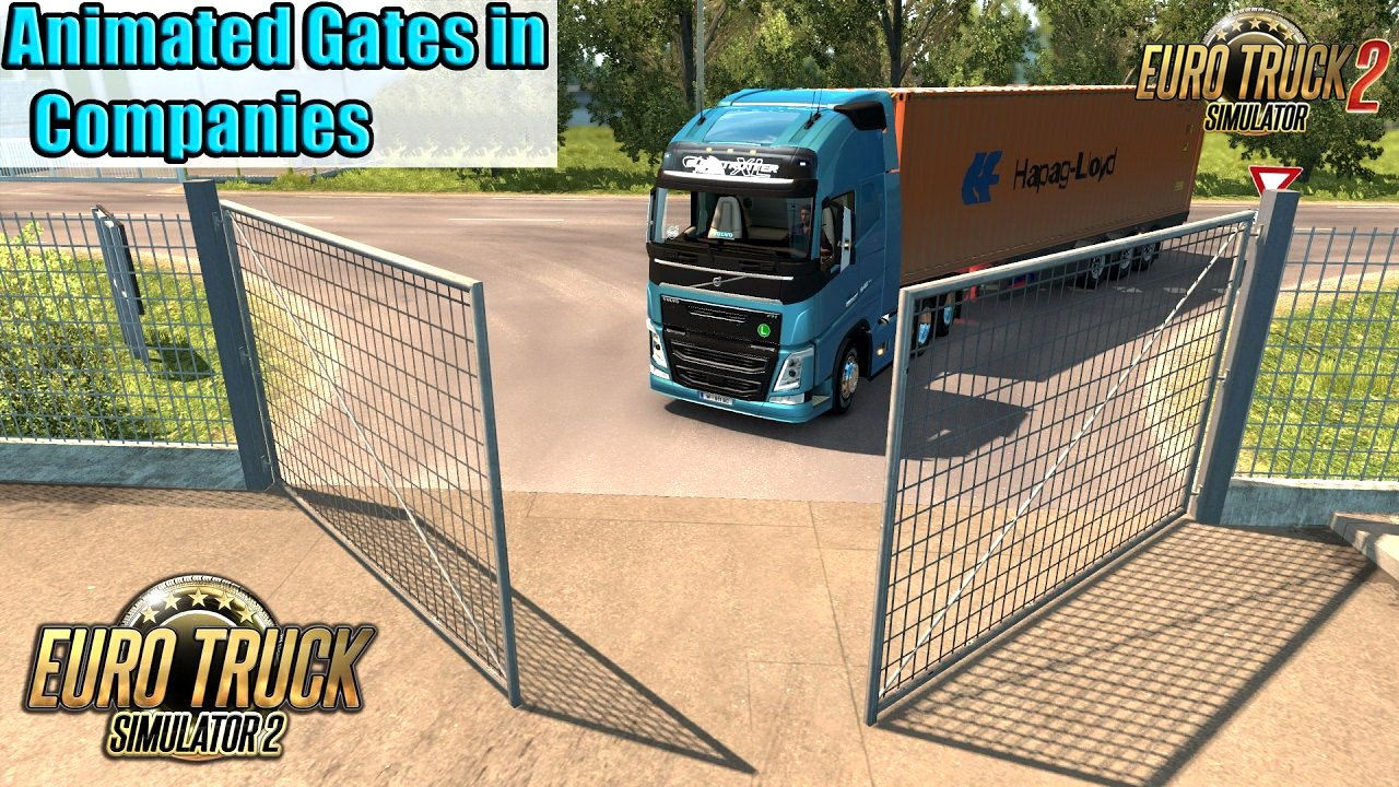 Animated Gates in Companies v3.2 by Schumi [1.35.x]