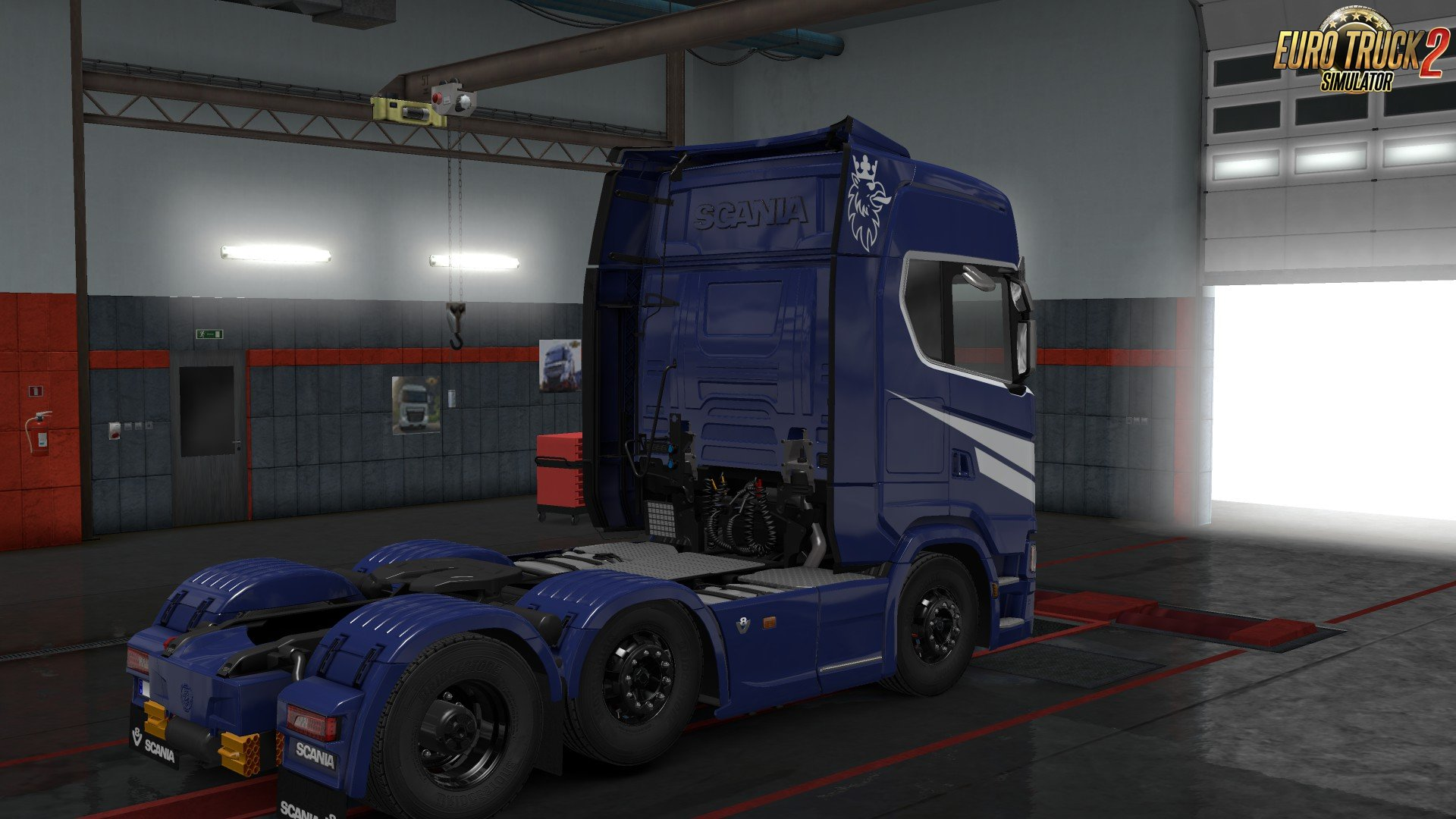 Scania S High Roof (New Gen) Skin v1.0.2 by l1zzy