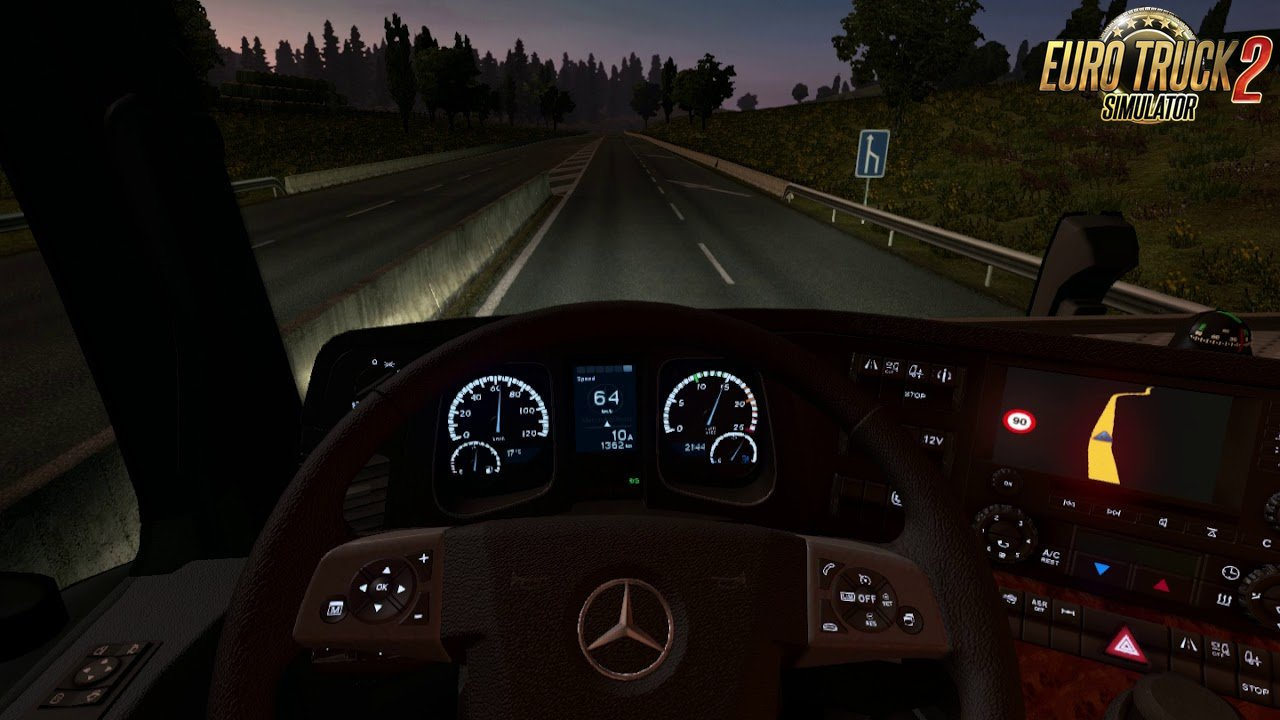 Mercedes MP IV Board computer [1.30.x]