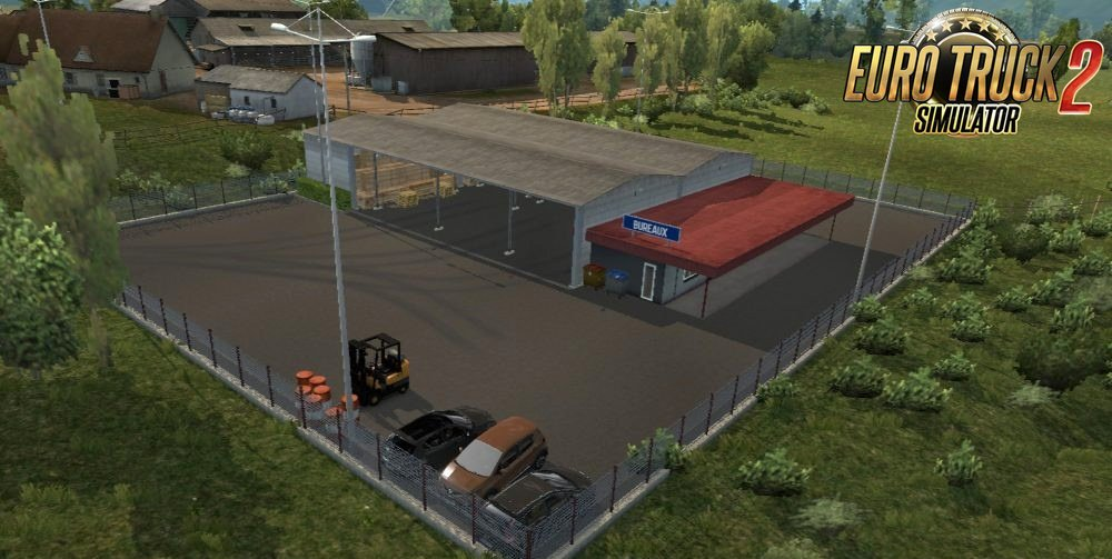 Warehouse Clermont-Ferrand for Ets2