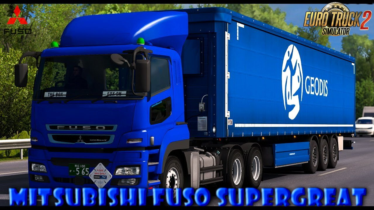 Mitsubishi Fuso Super Great + Interior v1.320 [1.32.x]