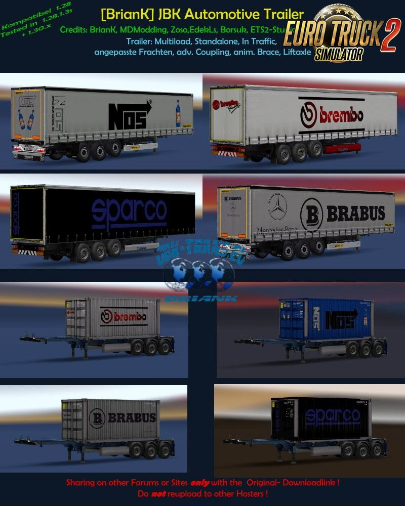 JBK-Automotive Trailer Pack