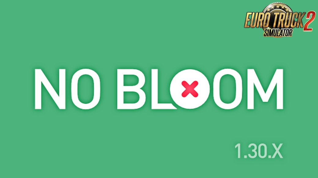 NO BLOOM Mod v1.0 by Pixelgraphers (1.30.x)