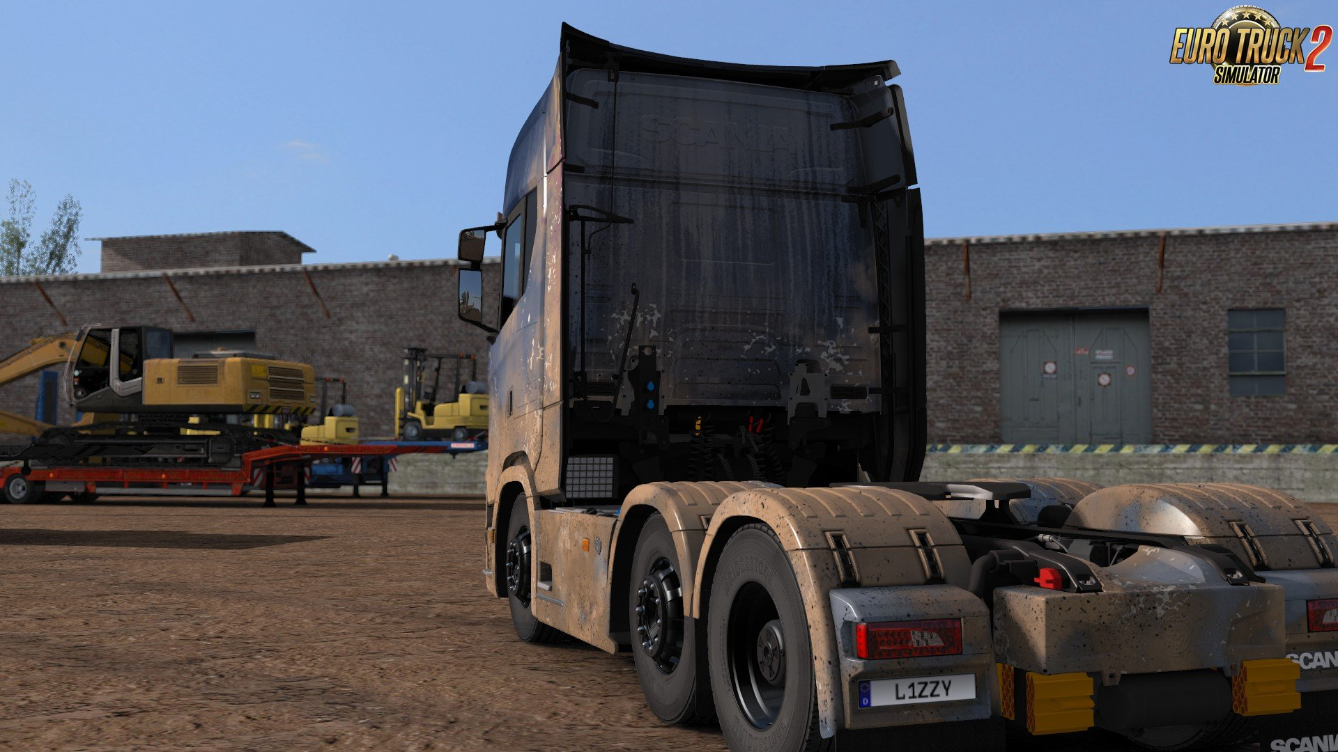 Dirty Scania S High Roof by l1zzy