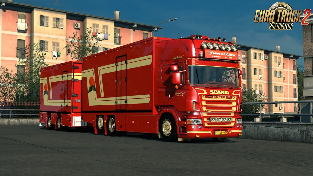 Scania V8 Crackle Sound v10.5