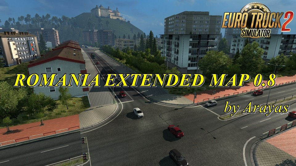 Romania Extended Map v0.8 by Arayas