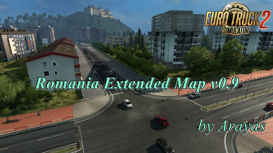 Romania Extended Map v0.9 by Arayas