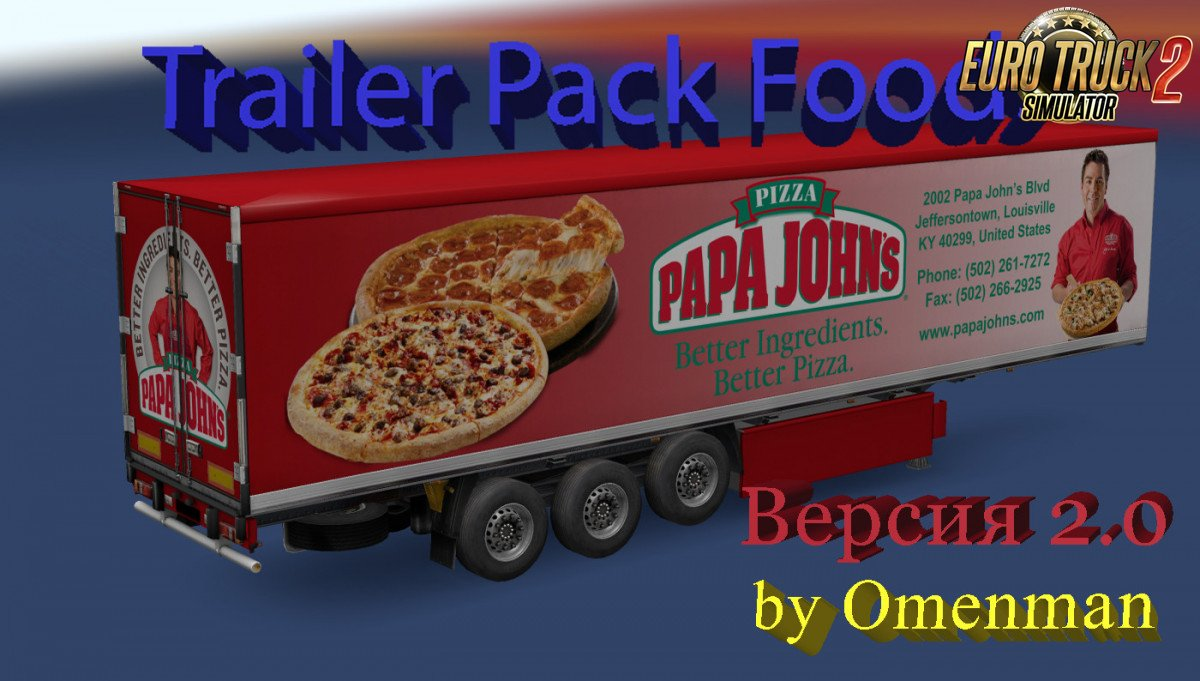 Trailer Pack Foods v2.0 by Omenman