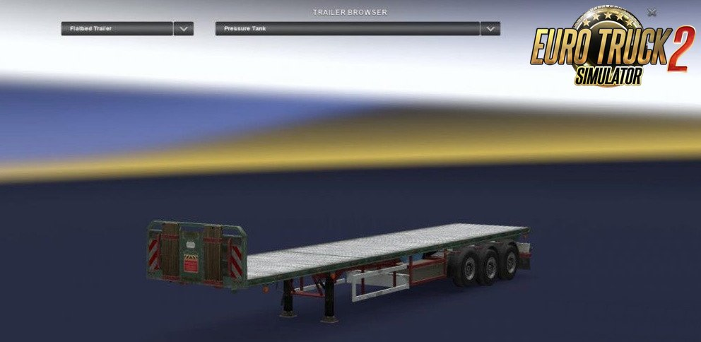 Empty and 1 ton for Flatbed trailer (MP & SP)